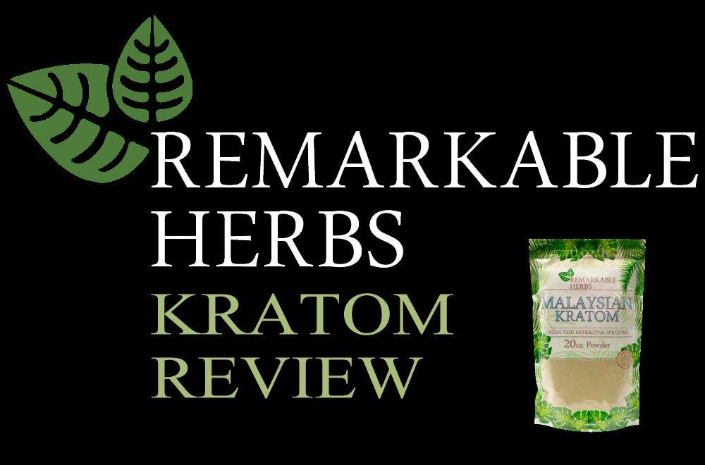 Remarkable Herbs Kratom Review